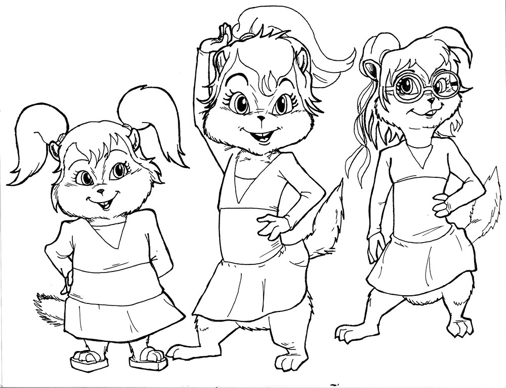 alvin and the chipmunks coloring pages alvin and the chipmunks coloring pages the and chipmunks pages coloring alvin