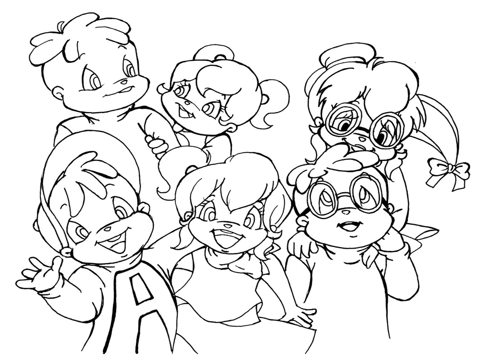 alvin and the chipmunks coloring pages chipmunk coloring pages to print coloring home chipmunks and pages coloring the alvin