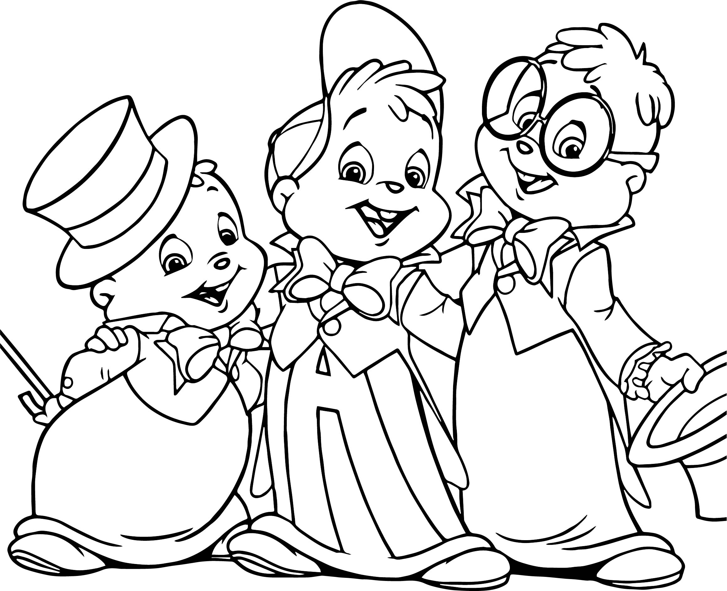 alvin and the chipmunks coloring pages coloring pages alvin and the chipmunks coloring home coloring and the chipmunks pages alvin