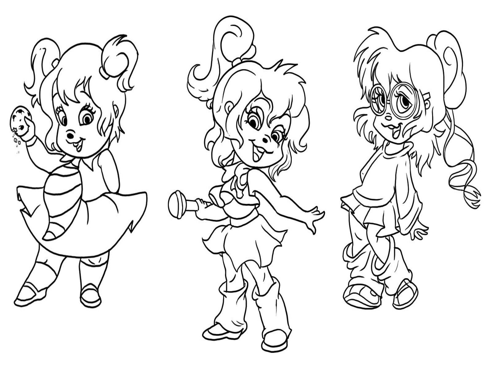alvin and the chipmunks coloring pages free printable coloring pages alvin and the chipmunks the and coloring chipmunks pages alvin