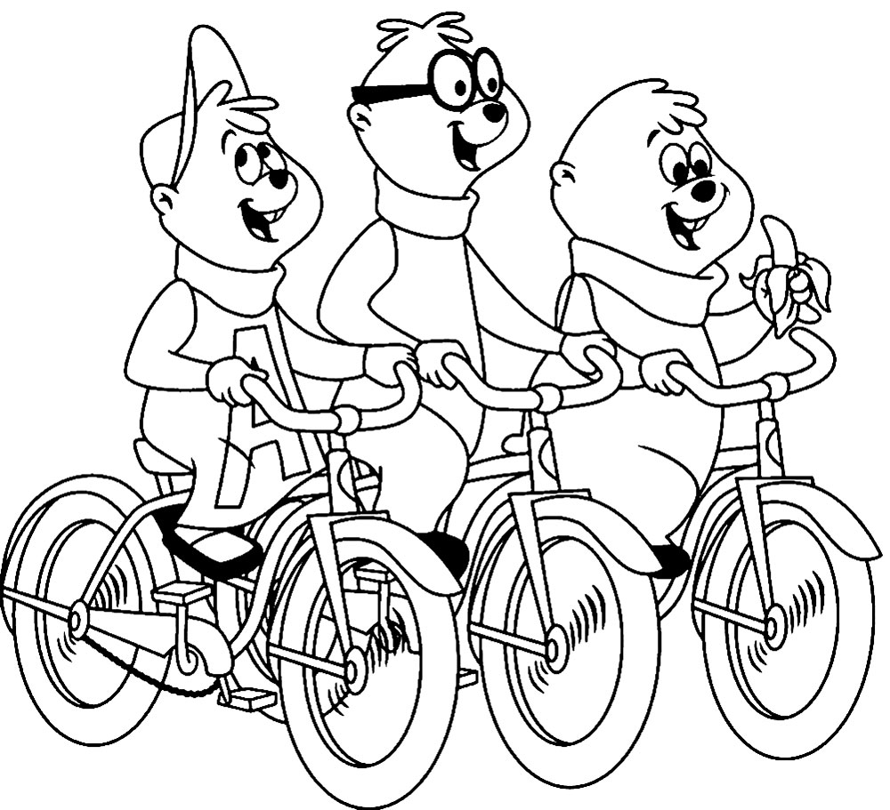 alvin and the chipmunks coloring pages the chipmunks alvin seville coloring pages chipmunks coloring chipmunks and pages the alvin