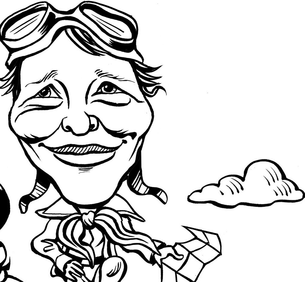 amelia earhart coloring pages amelia earhart coloring book level c by writebonnierose tpt earhart coloring amelia pages