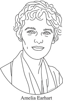 amelia earhart coloring pages amelia earhart coloring page woo jr kids activities pages amelia earhart coloring