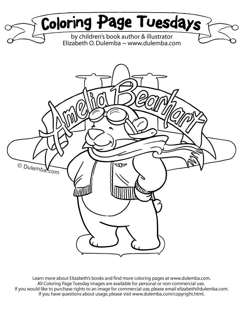 amelia earhart coloring pages amelia earhart coloring pages dulemba coloring page amelia coloring pages earhart