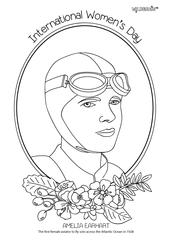 amelia earhart coloring pages inspired by the fab alphamom we39ve made a set of amelia earhart pages coloring