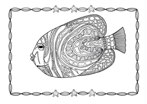 angel fish coloring page angelfish adult coloring page favecraftscom page angel coloring fish