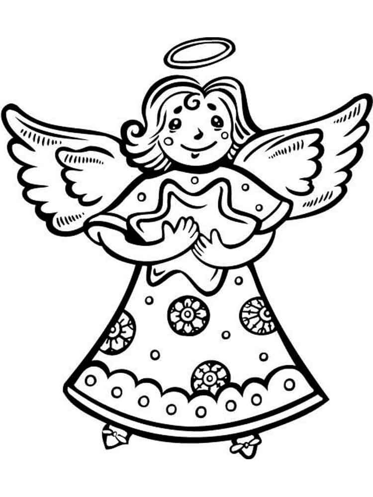 angel pictures to color christmas angel coloring pages color pictures angel to