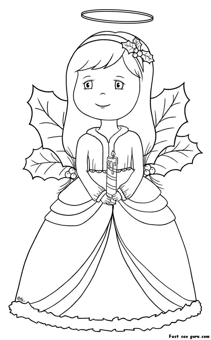 angel pictures to color free printable angel coloring pages for kids angel to color pictures