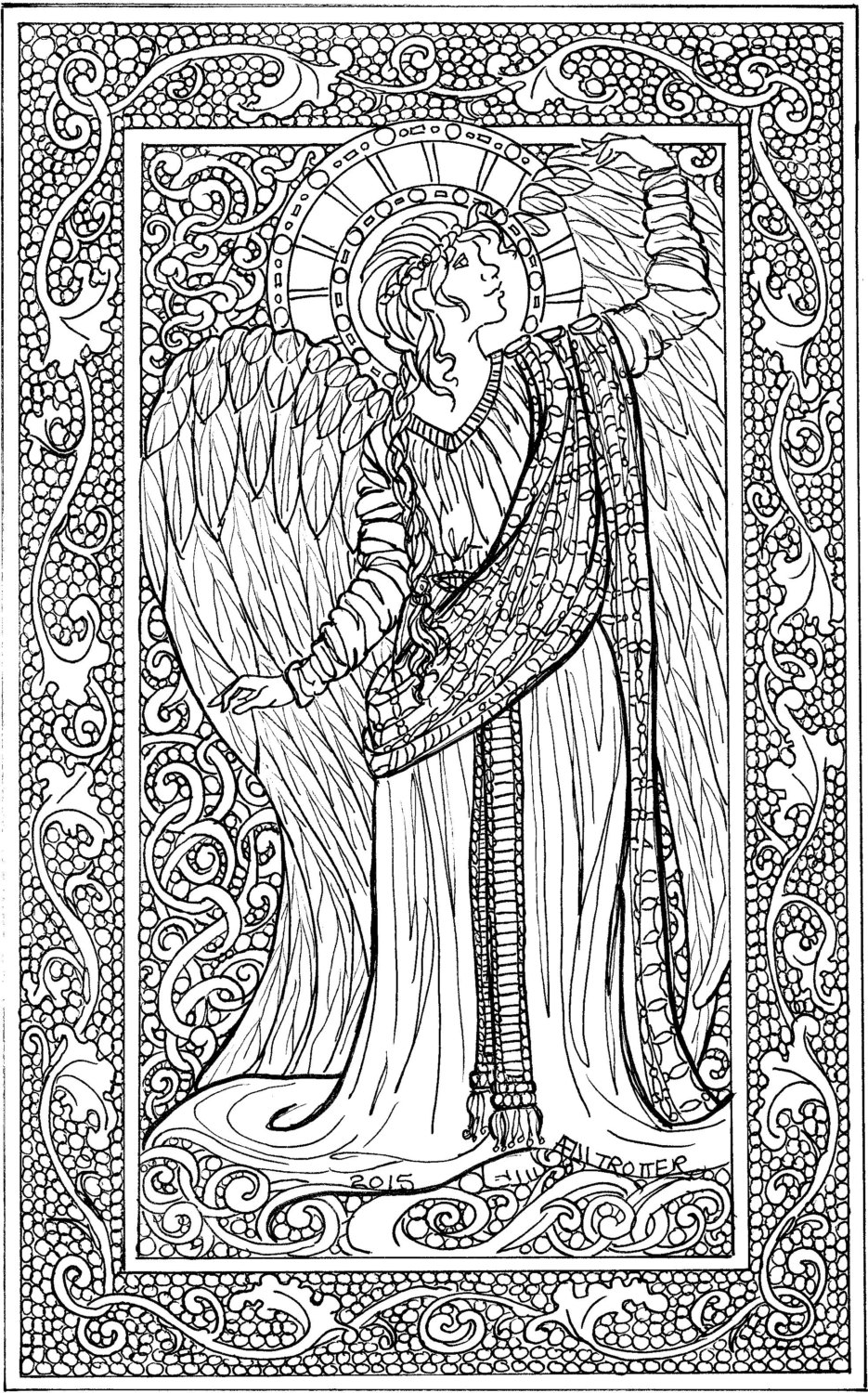 angel pictures to color xmas coloring pages to color angel pictures