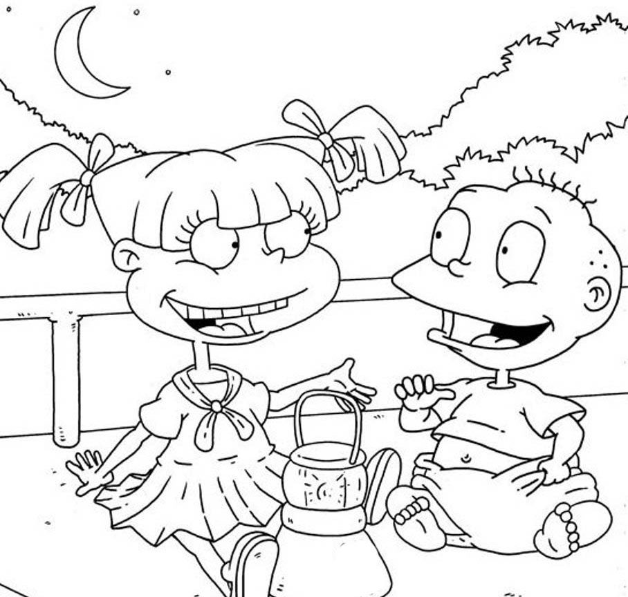 angelica rugrats coloring pages angelica pickles coloring pages pages rugrats coloring angelica