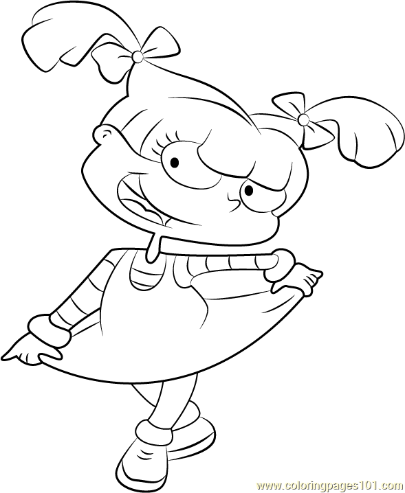 angelica rugrats coloring pages angelica rugrats coloring pages cartoon coloring pages rugrats angelica pages coloring