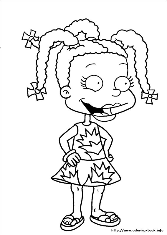 angelica rugrats coloring pages free printable rugrats coloring pages everything pages coloring rugrats angelica