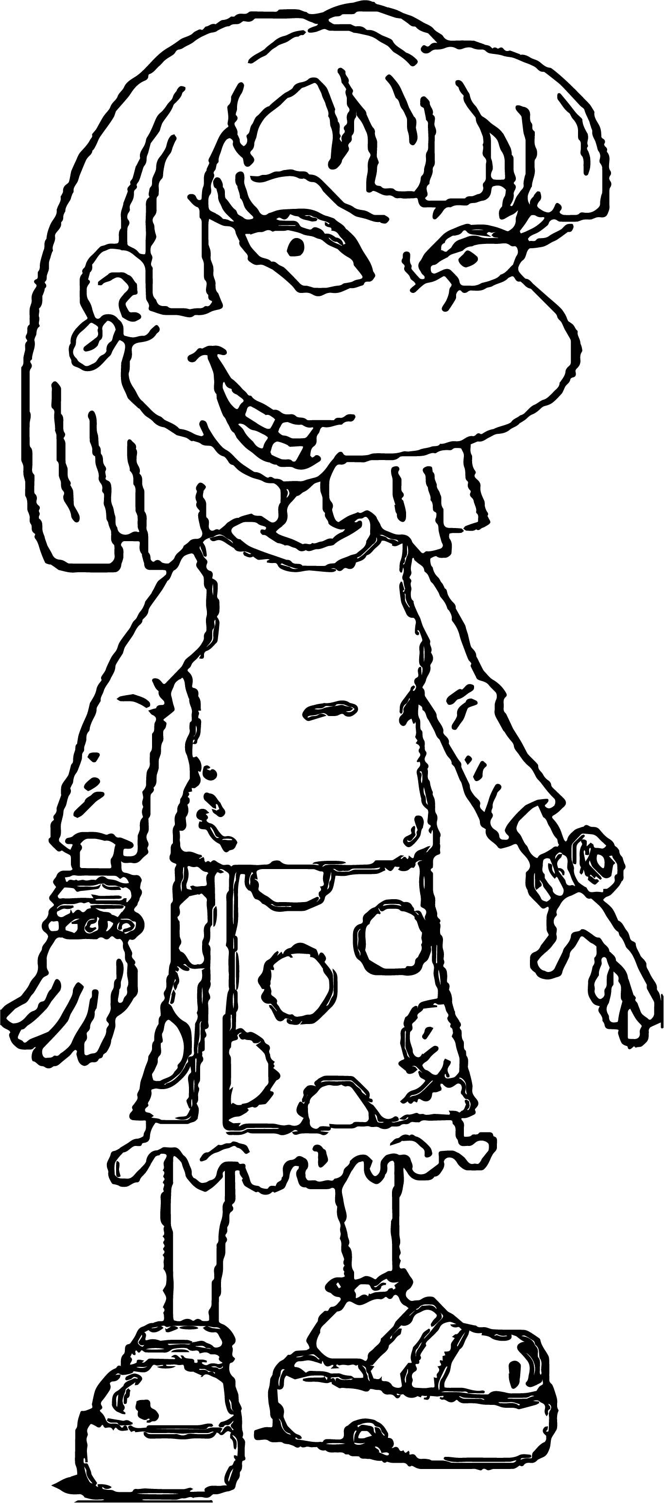 angelica rugrats coloring pages rugrats angelica coloring pages at getdrawings free download coloring angelica rugrats pages