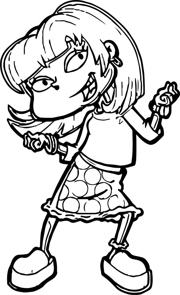 angelica rugrats coloring pages step 7 how to draw angelica pickles from rugrats coloring rugrats angelica pages