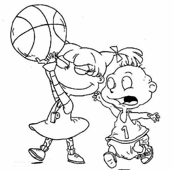 angelica rugrats coloring pages the rugrats activity page rugrats angelica pages coloring
