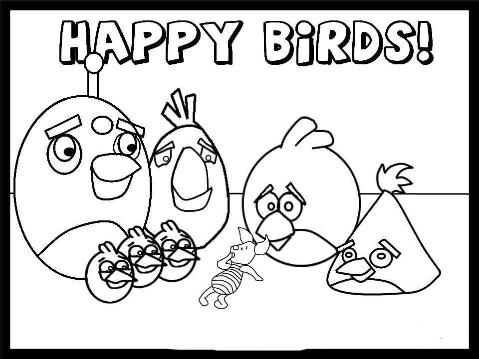 angry birds pictures to color angry birds coloring pages pictures color birds angry to