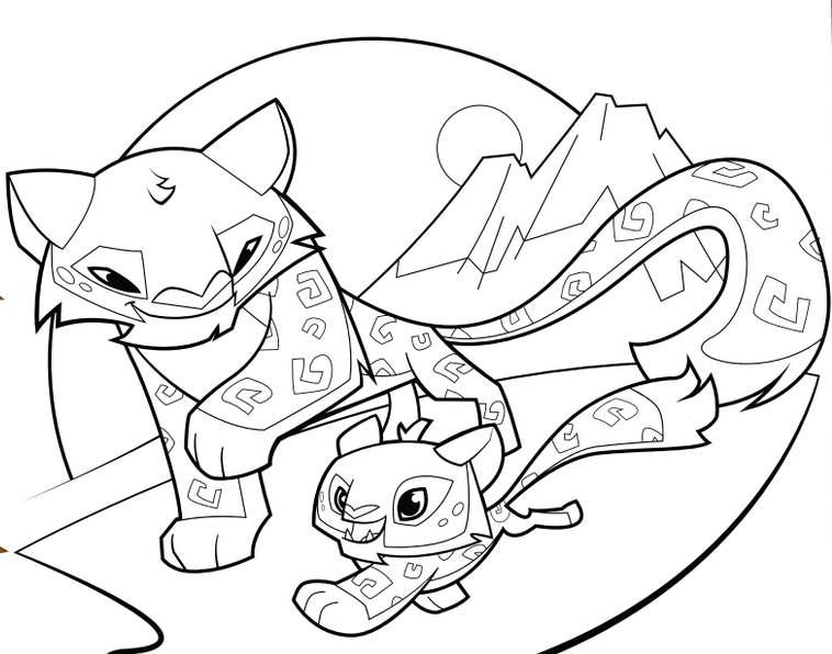 animal jam coloring animal jam coloring pages the daily explorer animal jam coloring animal