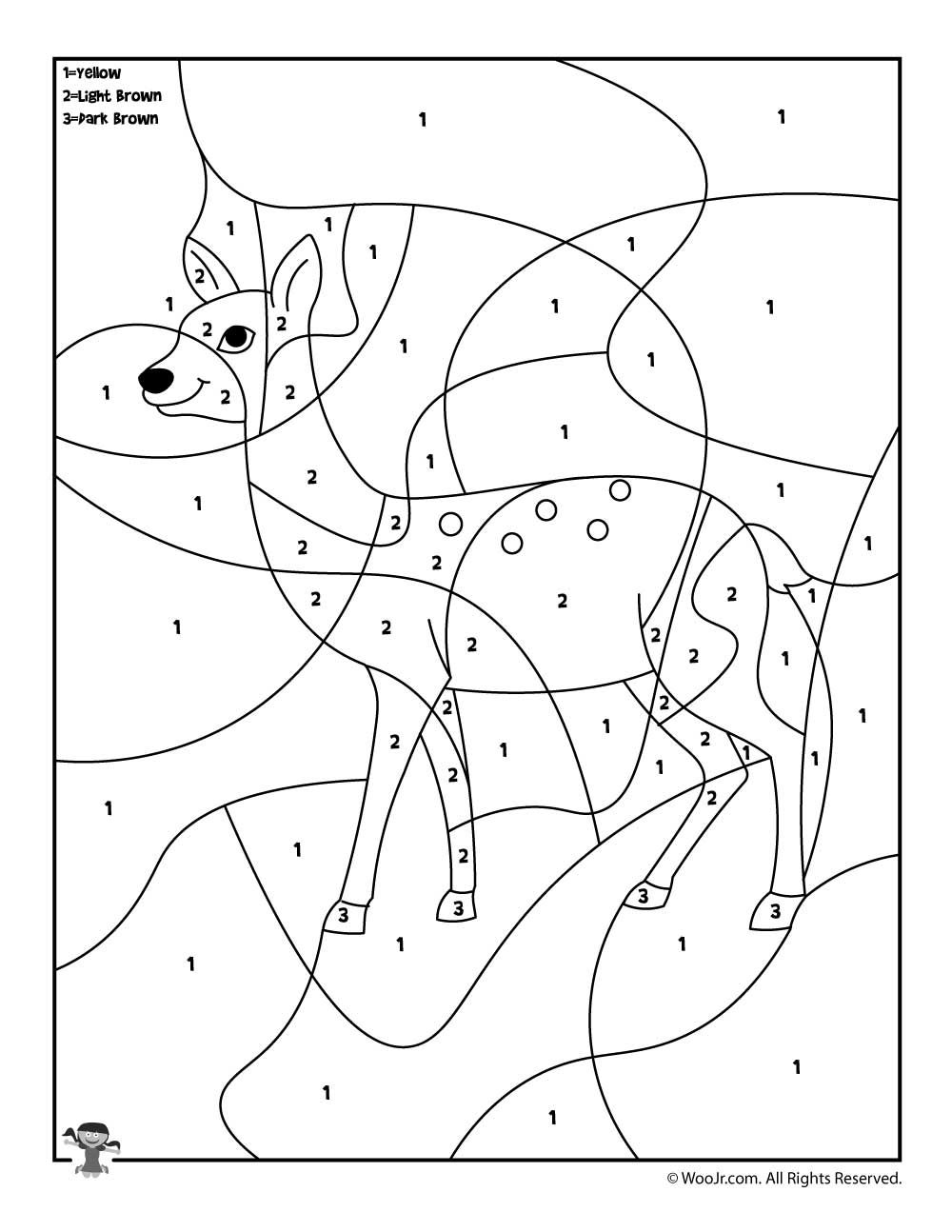 animal number coloring pages zoo animals color by number page colorear por números animal pages coloring number