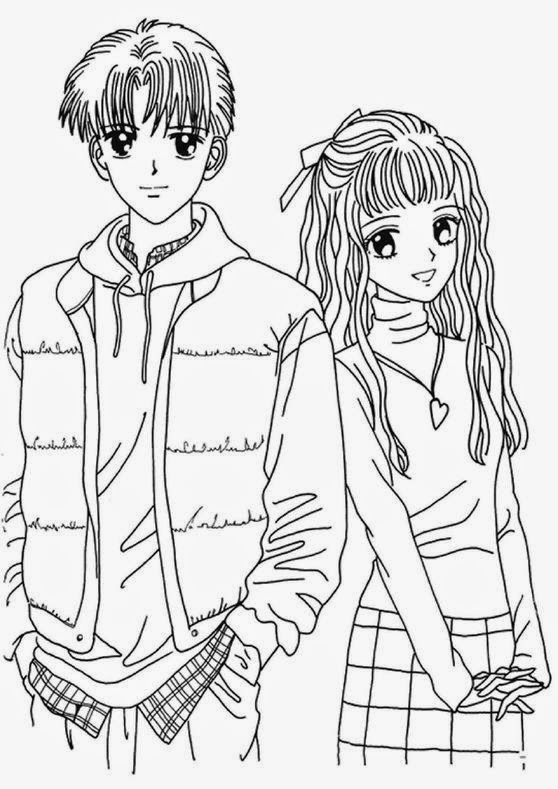 anime girl coloring pictures coloring pages anime coloring pages free and printable pictures anime coloring girl