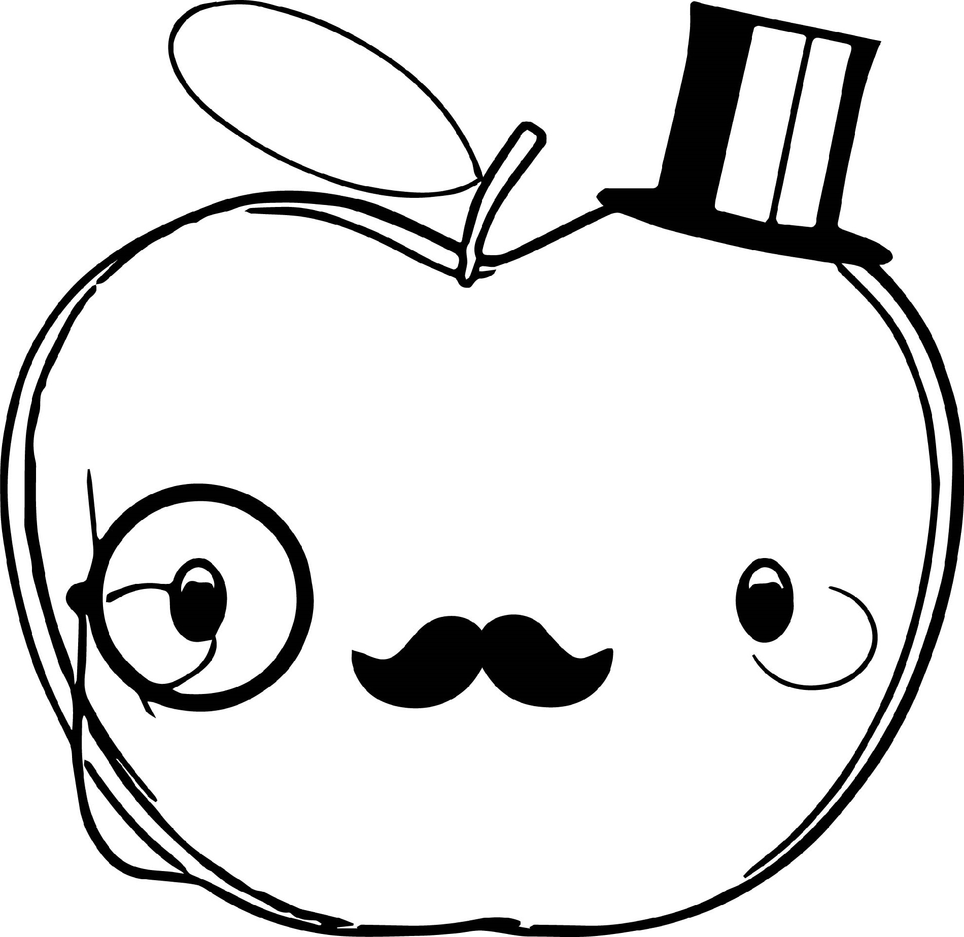 apple for coloring free printable apple coloring pages for kids coloring for apple 1 1