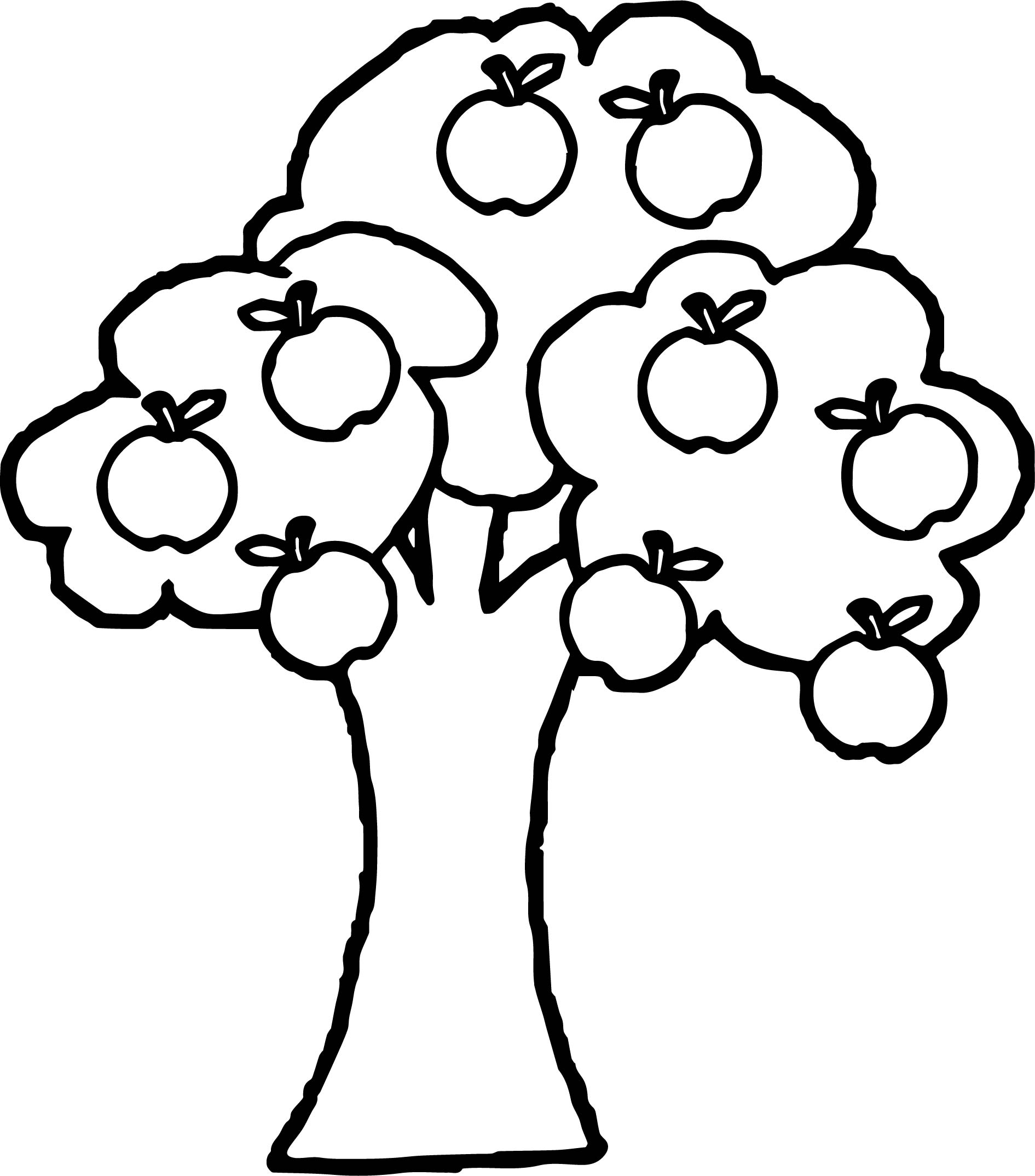 apple tree coloring sheet apple tree pictures to color coloring home sheet tree apple coloring