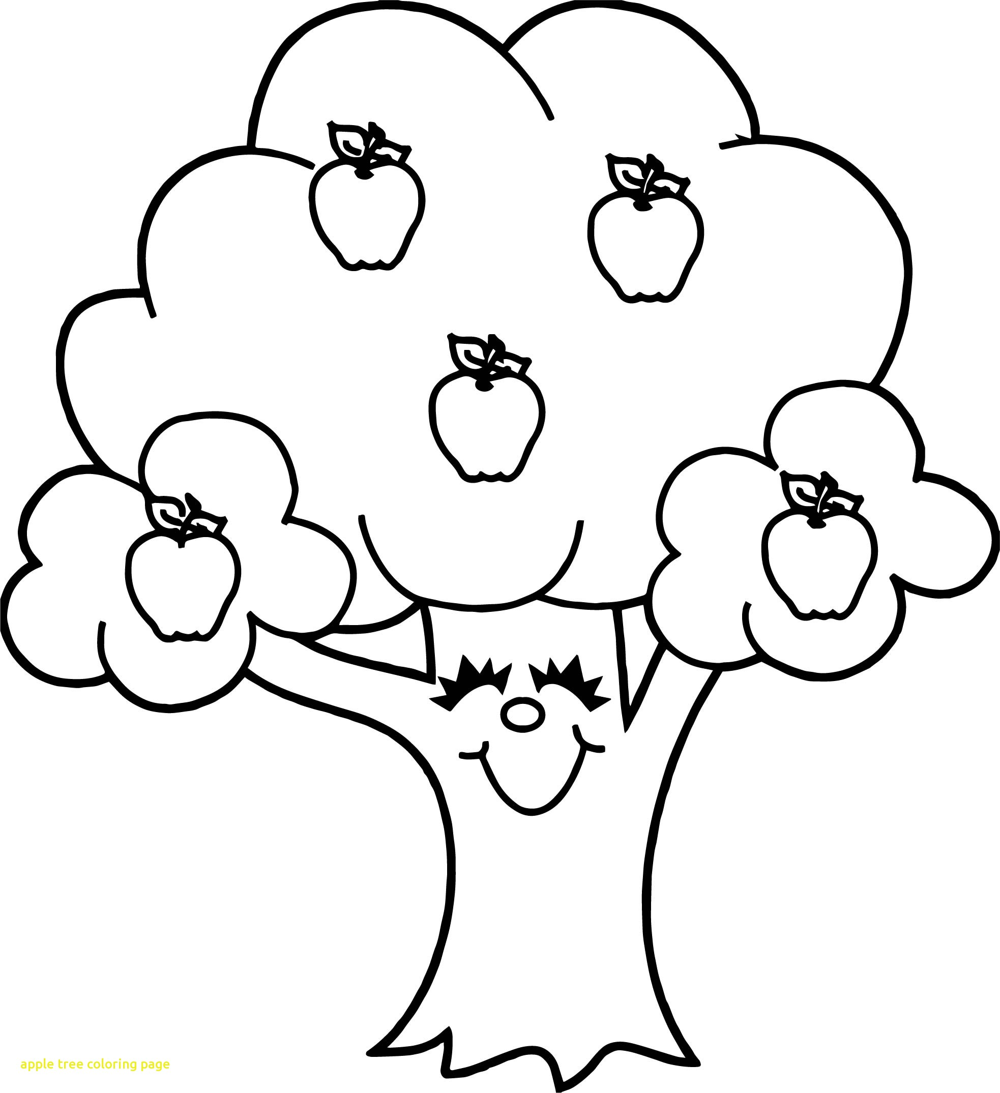 apple tree coloring sheet coloring page for kids apple tree coloring home tree apple sheet coloring