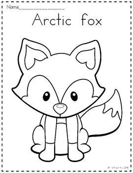 arctic animals coloring pages for preschoolers arctic animals coloring pages arctic pages for animals coloring preschoolers