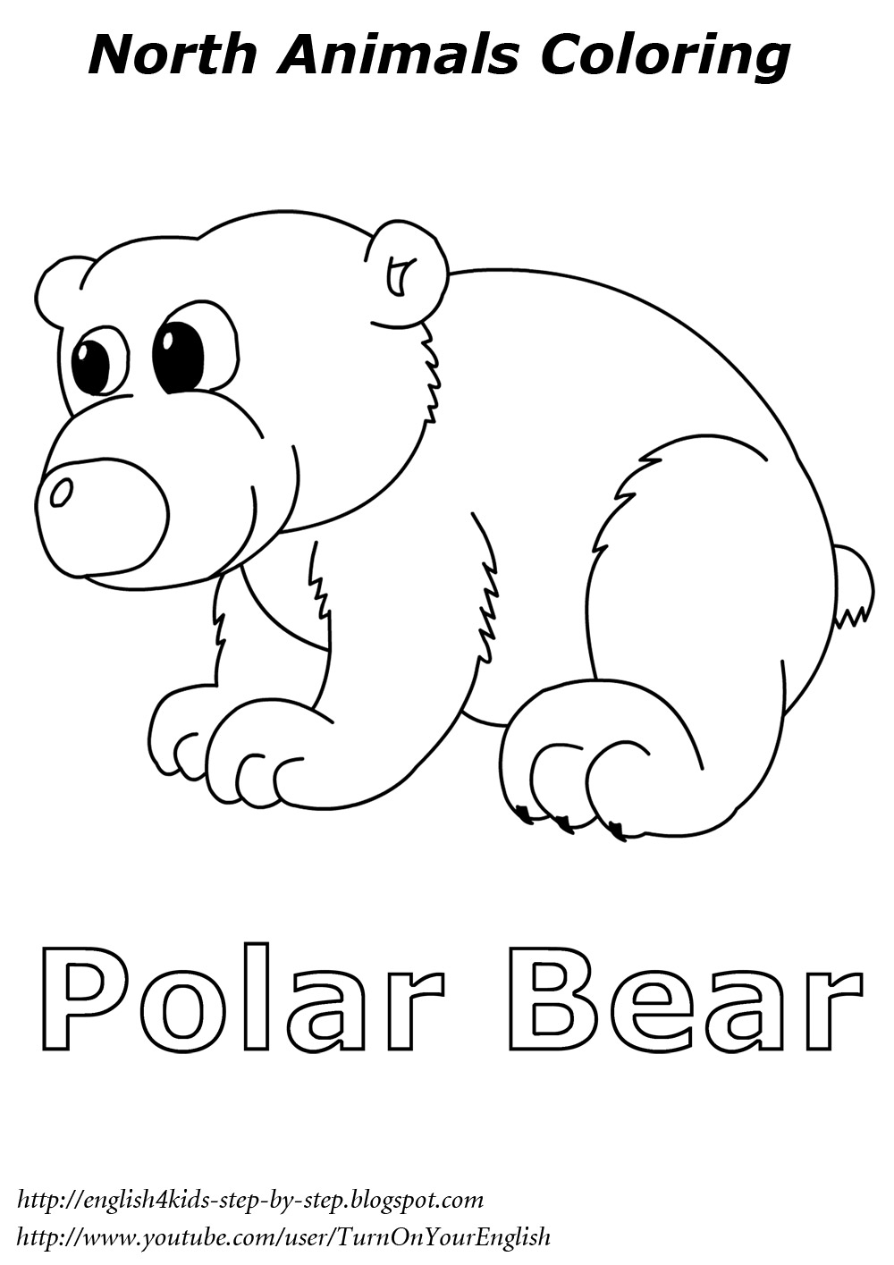 arctic animals coloring pages for preschoolers arctic animals coloring pages by the kinder kids tpt preschoolers pages animals for arctic coloring