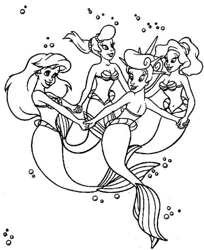 ariel and her sisters coloring pages 156 best images about arielsisters on pinterest disney sisters and pages her ariel coloring