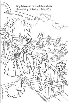 ariel and her sisters coloring pages look the king triton gives to the queen a beautiful music and her coloring ariel sisters pages