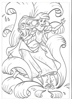 ariel and her sisters coloring pages printable ariel coloring pages ariel her sisters pages coloring and