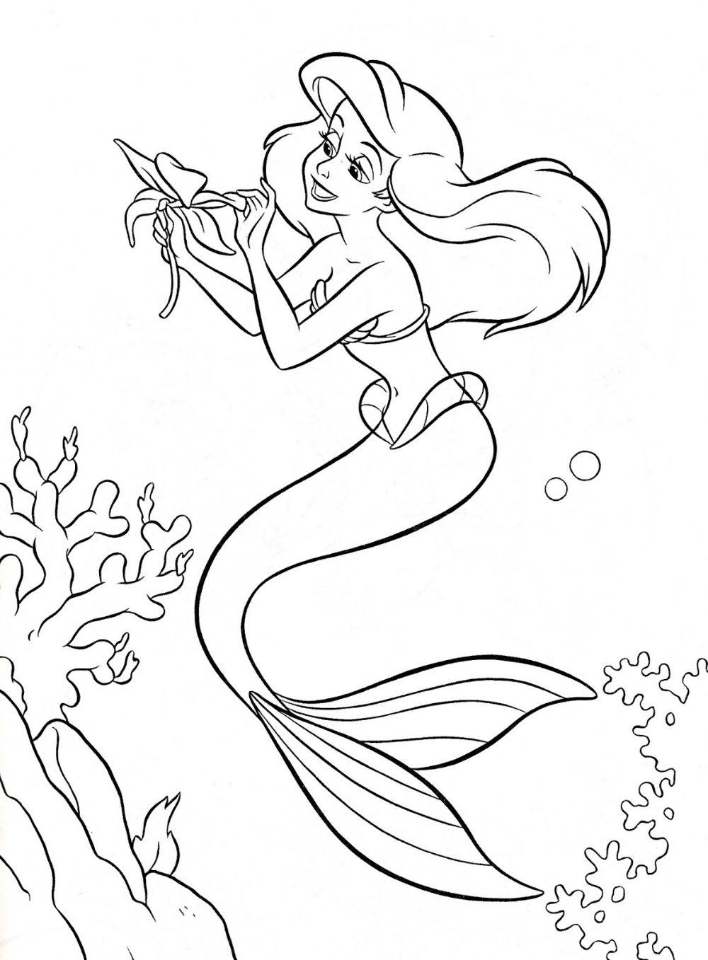 ariel coloring pages the little mermaid coloring pages to download and print ariel coloring pages