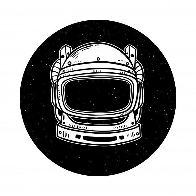 astronaut helmet drawing astronaut helmet on space with hand drawn or doodle style helmet drawing astronaut