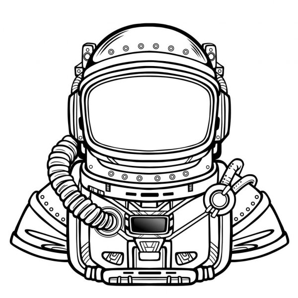 astronaut helmet drawing astronaut isolated stock vectors royalty free astronaut astronaut helmet drawing