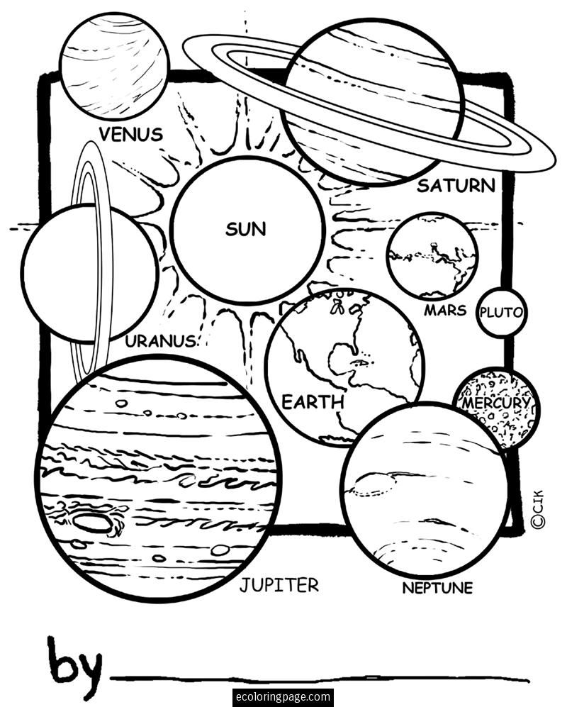 astronomy coloring pages outer space satellite orbiting earth coloring page pages coloring astronomy
