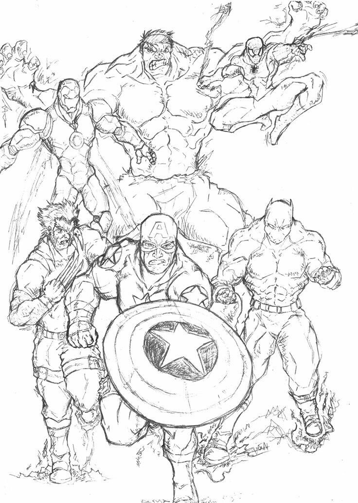 avengers 4 coloring pages print marvel coloring pages em 2020 desenhos para pages coloring 4 avengers