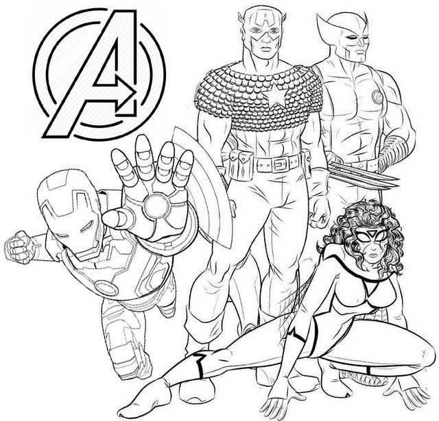 avengers 4 coloring pages the fierce iron man a4 avengers marvel coloring pages avengers coloring pages 4