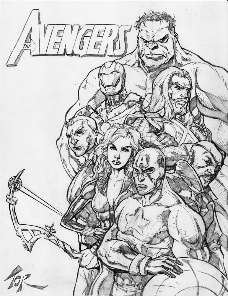 avengers drawing pictures 30 amazing avengers drawings by jun bob kim part 12 avengers drawing pictures