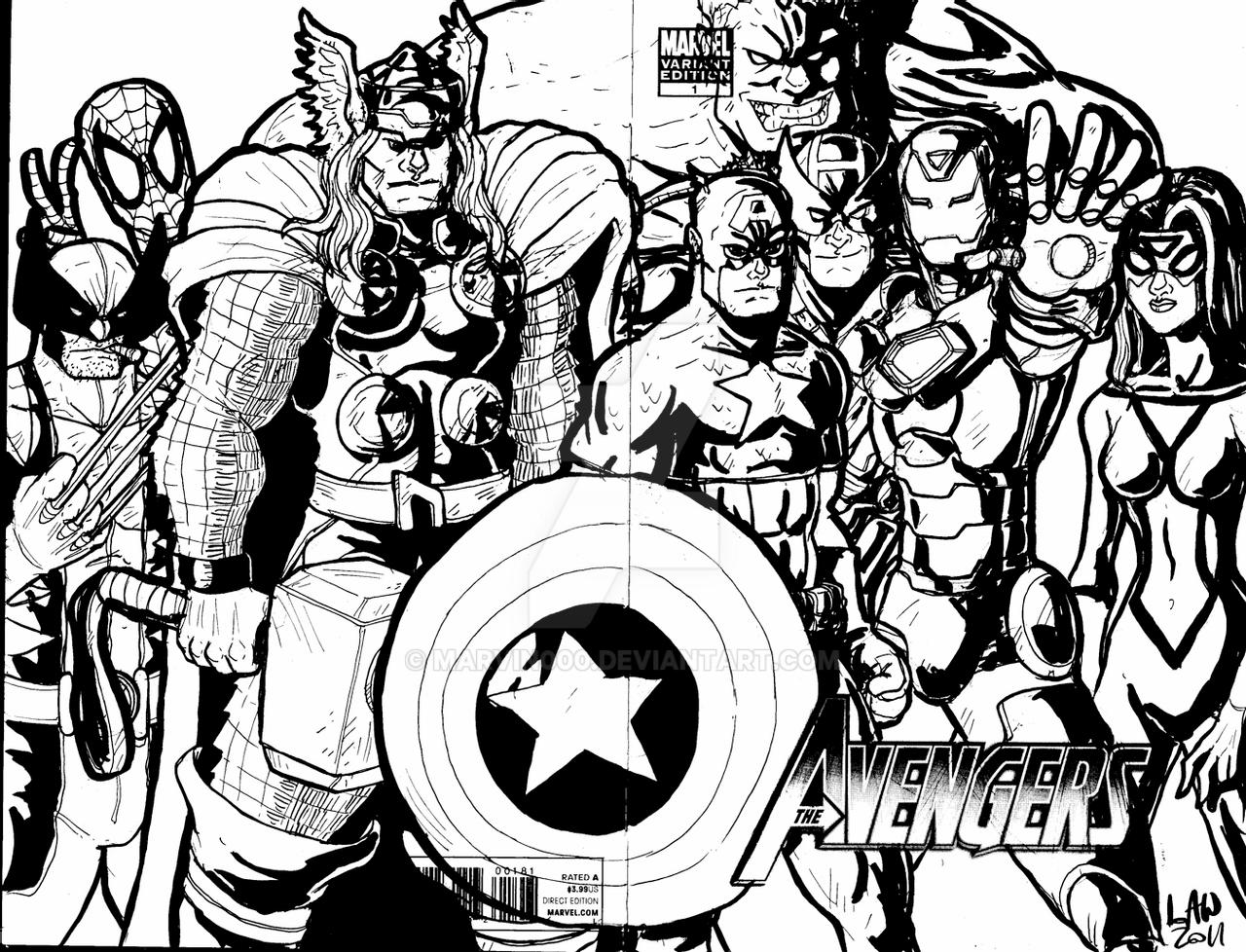 avengers drawing pictures avengers sketch cover by marvin000 on deviantart drawing pictures avengers