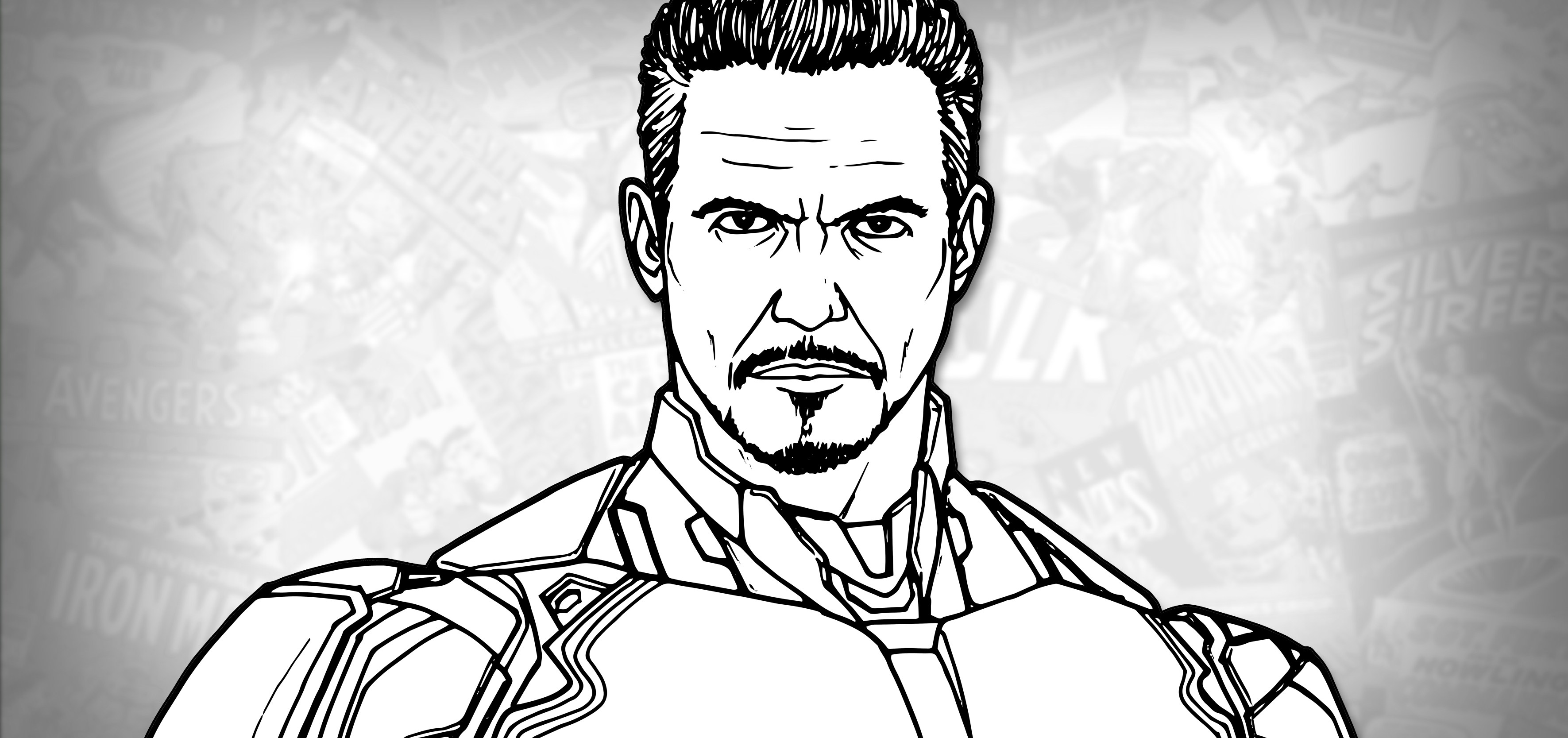 avengers drawing pictures how to draw iron man avengers endgame drawing tutorial avengers drawing pictures
