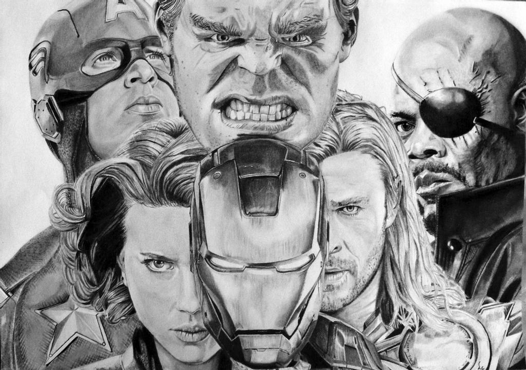 avengers drawing pictures how to draw ultron avengers age of ultron step by step avengers drawing pictures