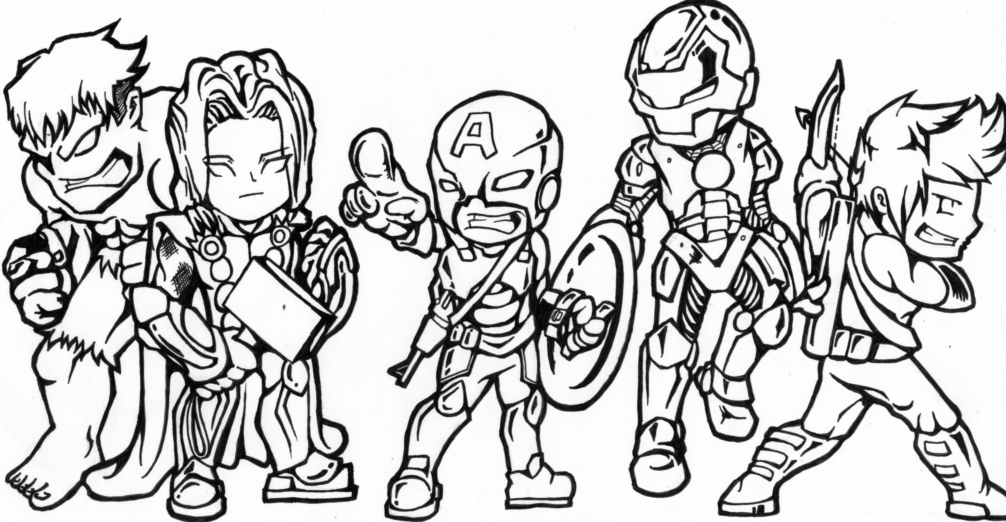 avengers drawing pictures the avengers by portraitlc on deviantart pictures avengers drawing