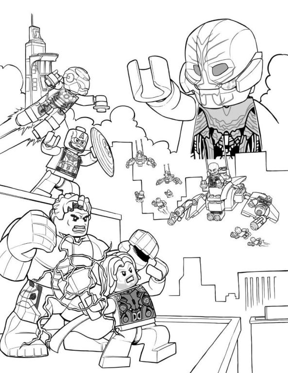 avengers ultron coloring pages avengers marvel coloring pages a child printable coloring avengers coloring ultron pages