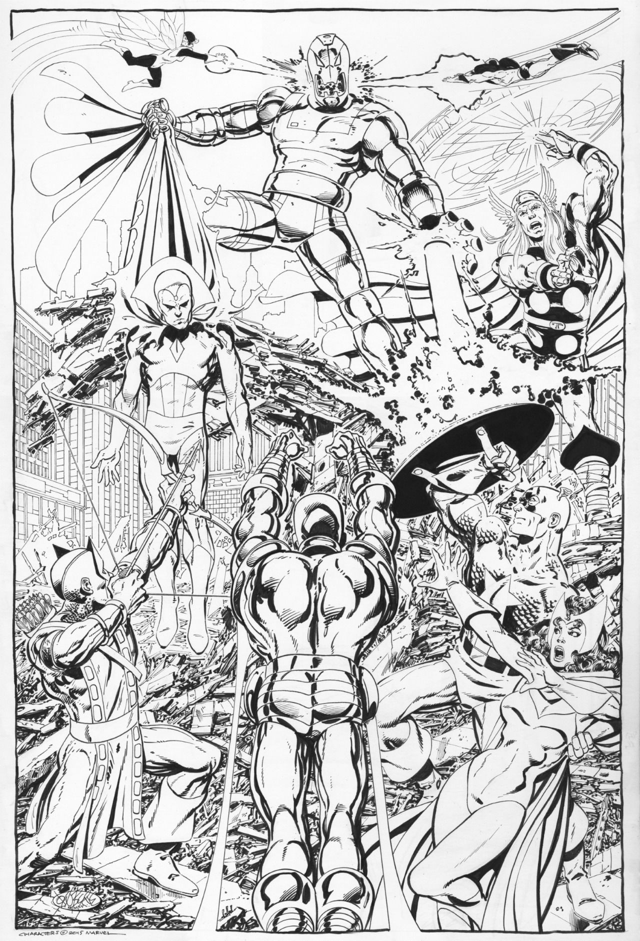 avengers ultron coloring pages coloring page ultron robot army ultron coloring avengers pages