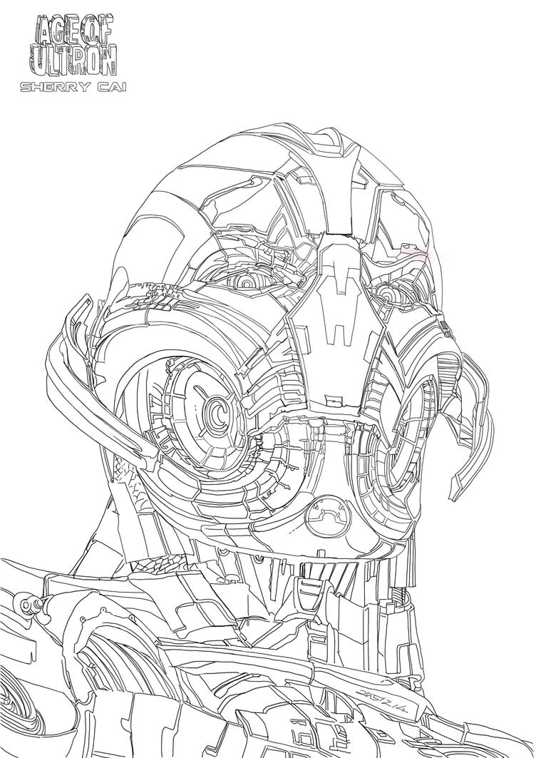 avengers ultron coloring pages super heroes hulk thor iron man and captain america pages coloring avengers ultron