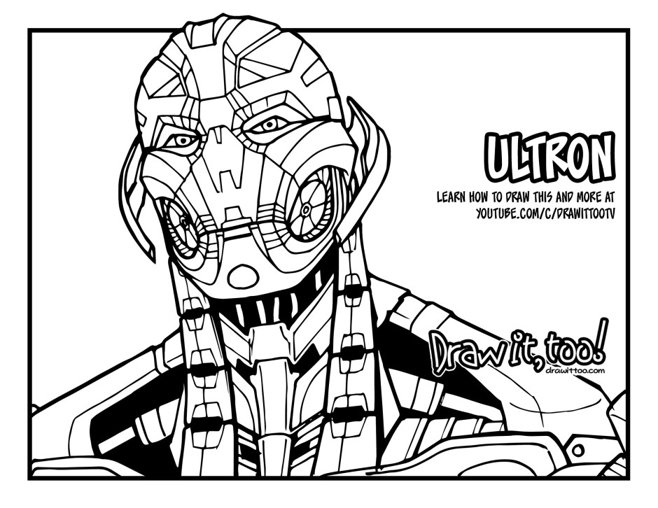 avengers ultron coloring pages ultron coloring pages coloring home pages coloring ultron avengers