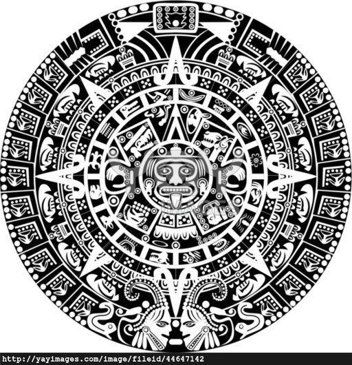aztec sun drawing drawing of the aztec sun stone con imágenes drawing sun aztec