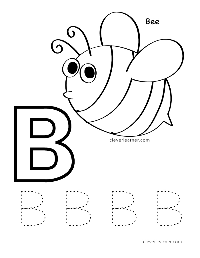b is for bee coloring page download b is for bee coloring page coloring wizards is bee coloring page b for