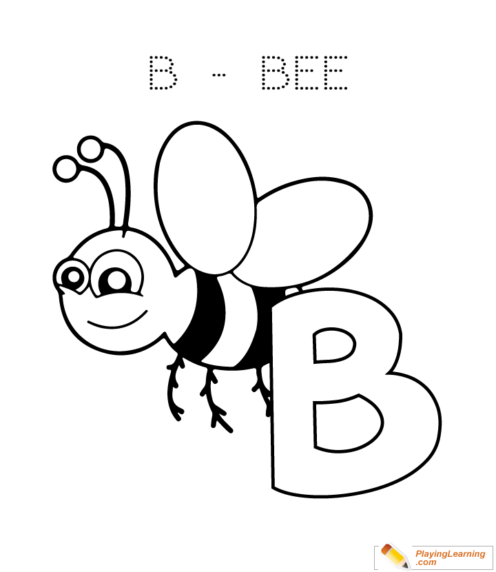 b is for bee coloring page kostenlose druckbare hummel malvorlagen für kinder coloring bee page b is for