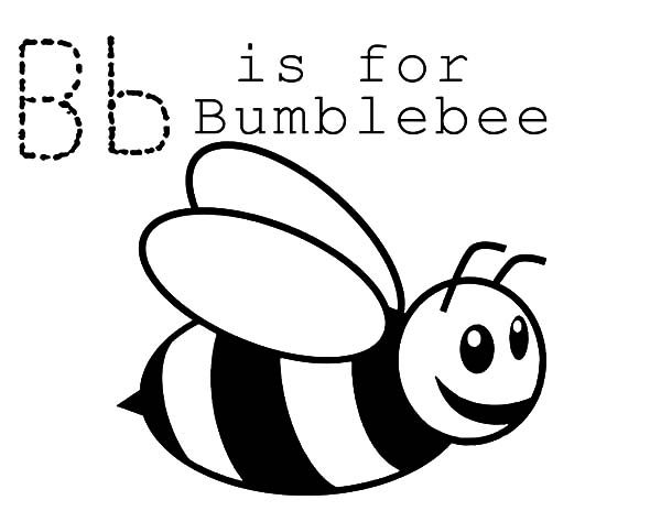 b is for bee coloring page letter b is for bike super coloring preschool coloring for bee is b coloring page